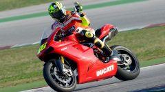 Valentino Rossi a Misano con la 1198 SBK - Immagine: 4