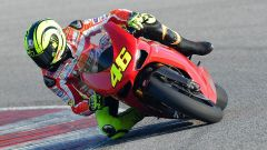 Valentino Rossi a Misano con la 1198 SBK - Immagine: 5