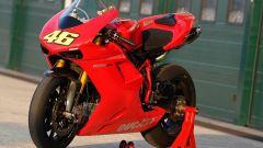 Valentino Rossi a Misano con la 1198 SBK - Immagine: 6