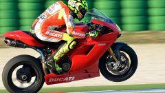 Valentino Rossi a Misano con la 1198 SBK - Immagine: 7