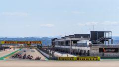 Round Superbike Aragon 2020, la partenza