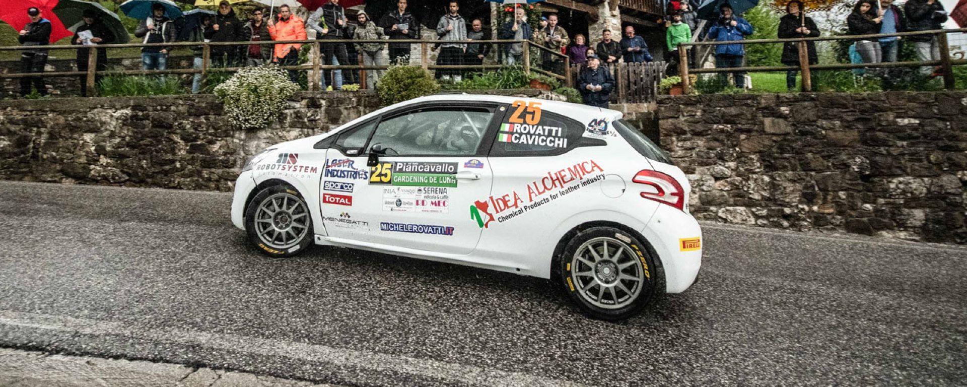 Rovatti - Peugeot 208 R2b Rally Piancavallo