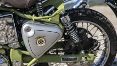 Royal Enfield Bullet Trials: le ruote sono tassellate