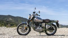 Royal Enfield Bullet Trials: vista laterale