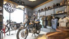 Royal Enfield concept store a Milano