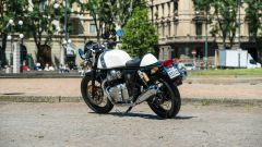 Royal Enfield Continental GT 650: bella anche davanti al bar