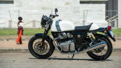 Royal Enfield Continental GT 650: vista laterale