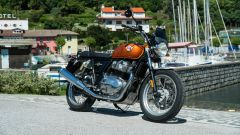 Royal Enfield Interceptor 650: 3/4 anteriore