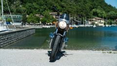 Royal Enfield Interceptor 650: il frontale