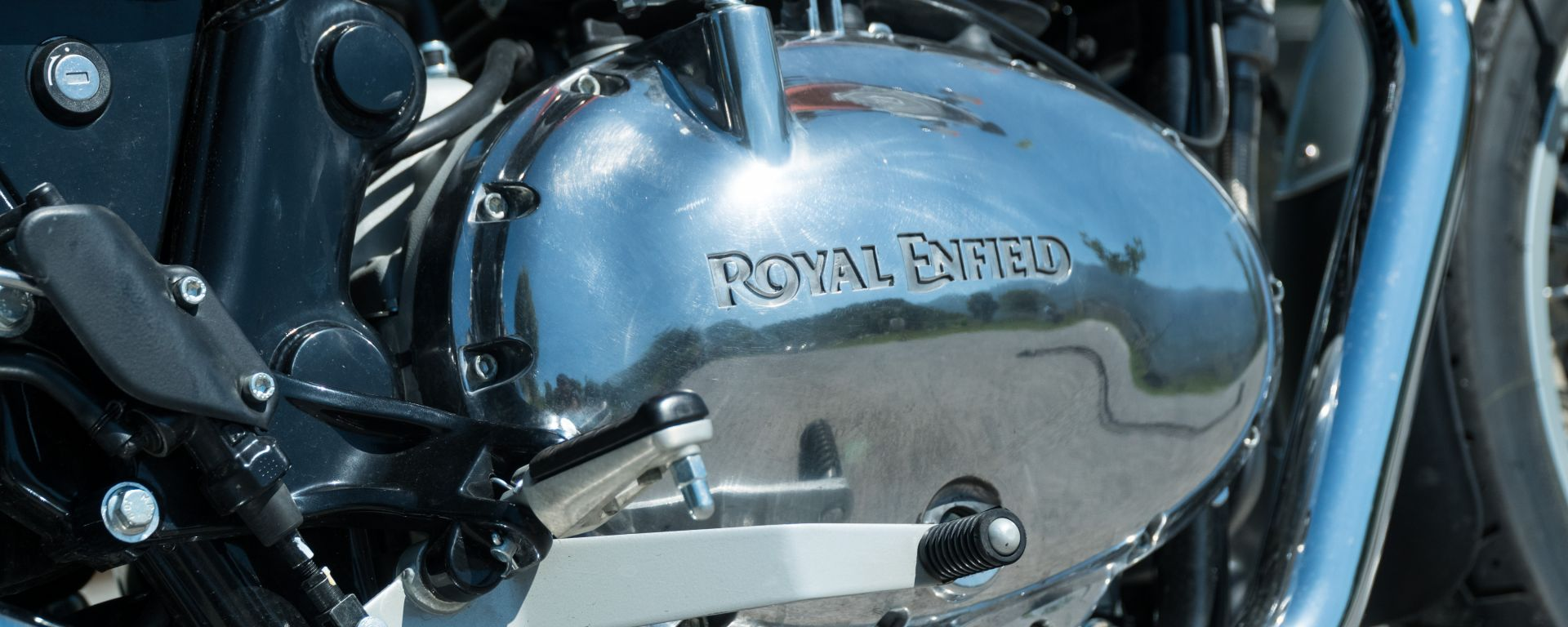 Royal Enfield Interceptor 650: piacciono i carter cromati