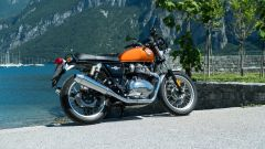 Royal Enfield Interceptor 650: vista laterale