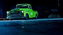(VIDEO) Retro Electro Apache 1958, a vintage electric pickup - Immagine: 1