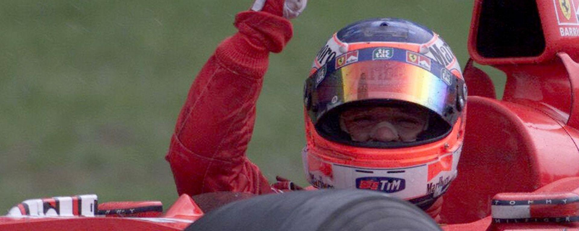 Rubens Barrichello ai tempi della Ferrari