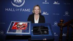 Sabine Kehm ritira i premi per Michael Schumacher