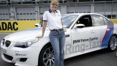 Sabine Schmitz e la sua BMW M5