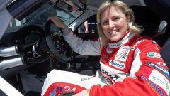 Sabine Schmitz prima di una gara