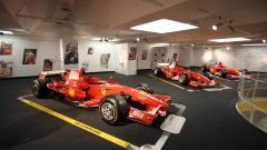 Sala piloti monoposto odierne - Museo Ferrari