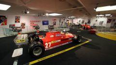 Sala piloti monoposto passato- Museo Ferrari
