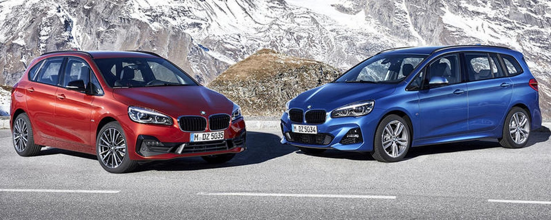 BMW Serie 2 Active Tourer e Grand Tourer: a Ginevra il facelift