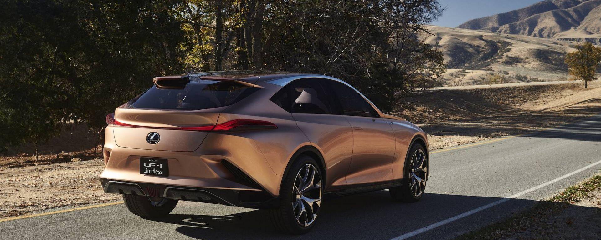 Lexus LF-1 Limitless Concept: a Detroit la nuova LX?
