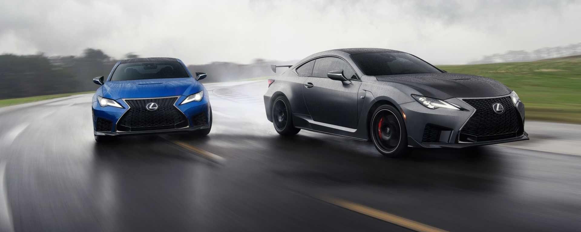 Detroit 2019, Lexus RC F restyling: ibrida? No, V8!