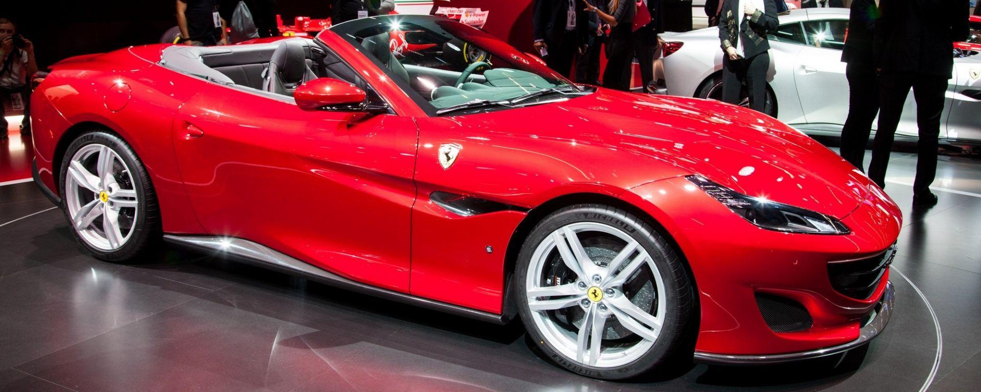 Salone di Francoforte 2017, lo stand Ferrari