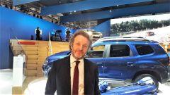 Le novità Dacia raccontate da Francesco Fontana Giusti, Direttore Comunicazione e Immagine Renault Italia - Immagine: 1