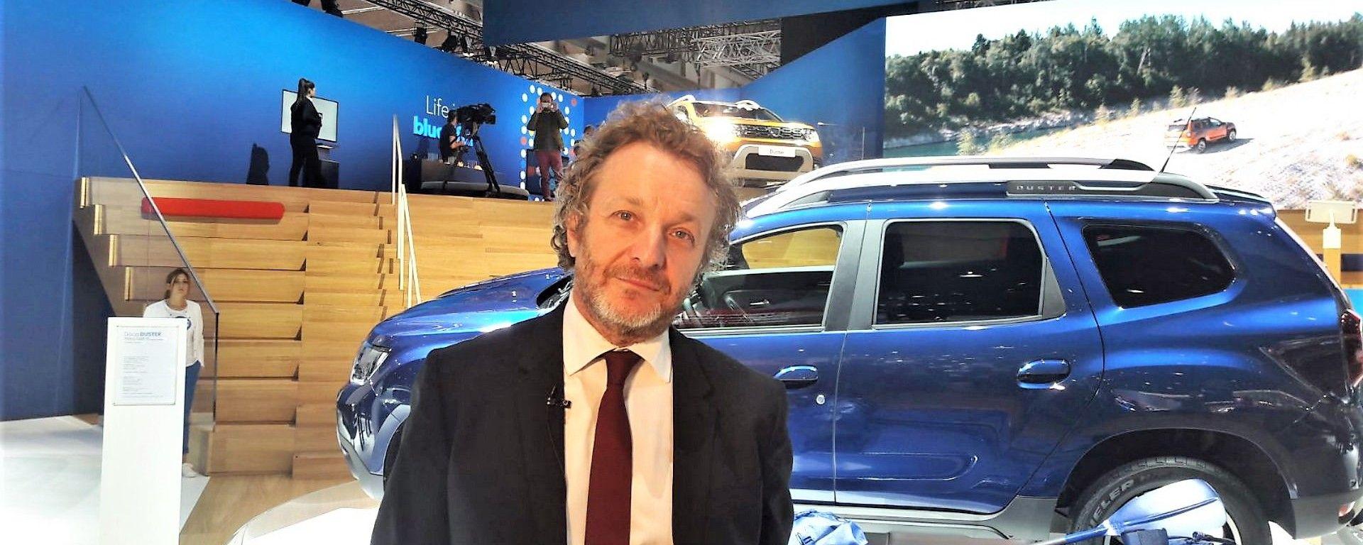 Le novità Dacia raccontate da Francesco Fontana Giusti, Direttore Comunicazione e Immagine Renault Italia