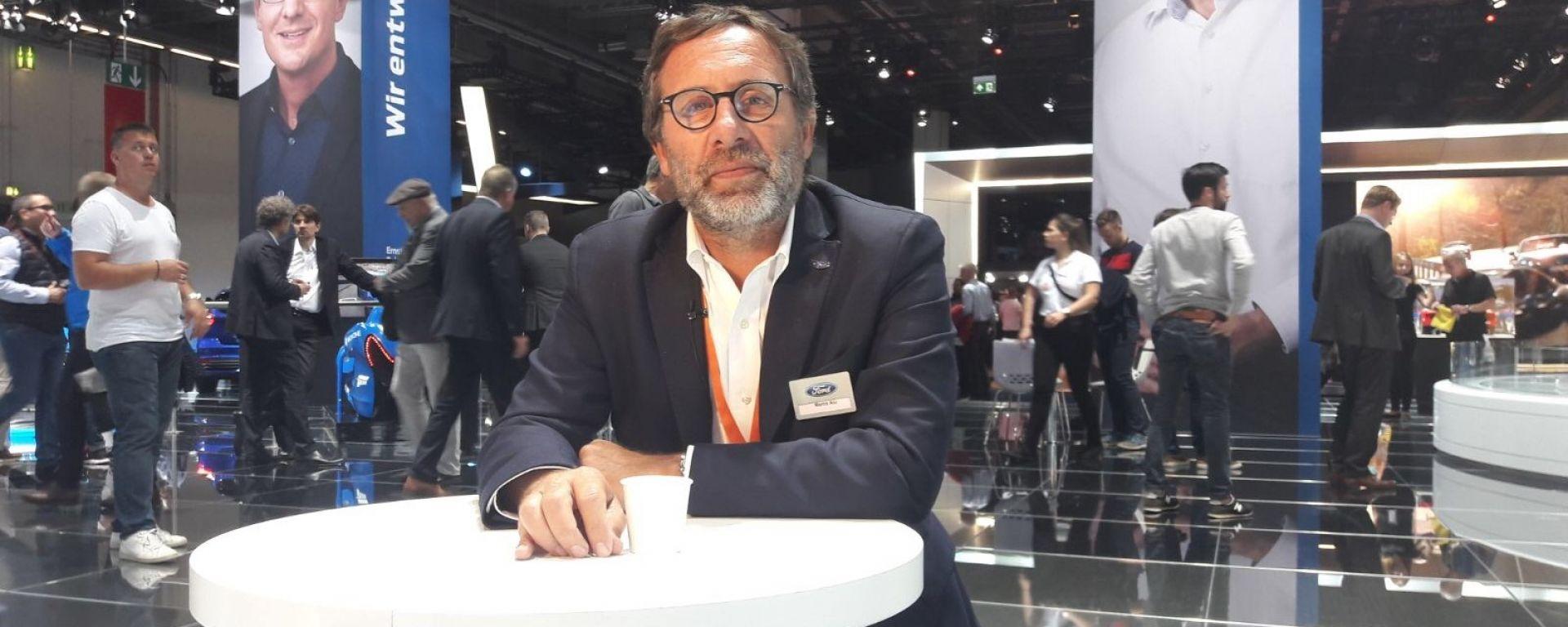 Le novità Ford raccontate da Marco Alù Saffi, Direttore Relazioni Esterne Ford Italia