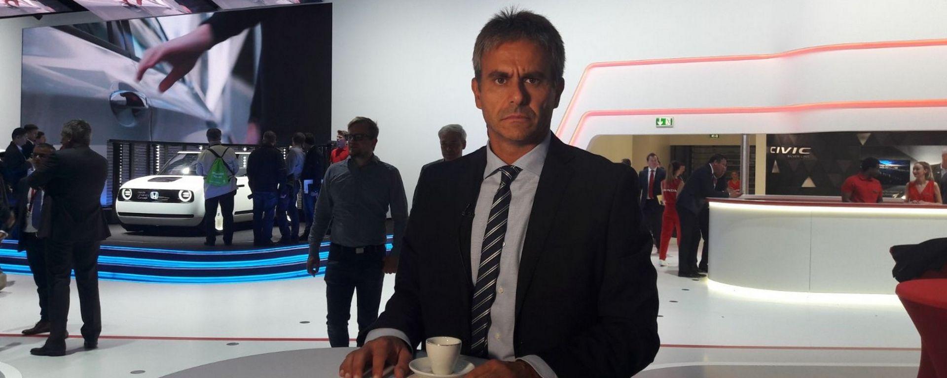 Le novità Honda raccontate da Vincenzo Picardi, Responsabile Relazioni Esterne di Honda Italia