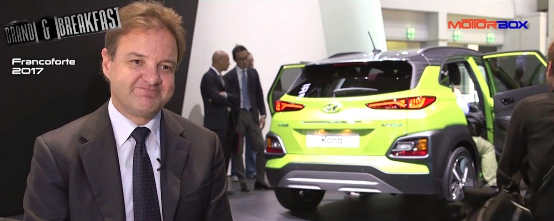 Le novità Hyundai raccontate da Andrea Crespi, Managing Director Hyundai Motor Company Italy