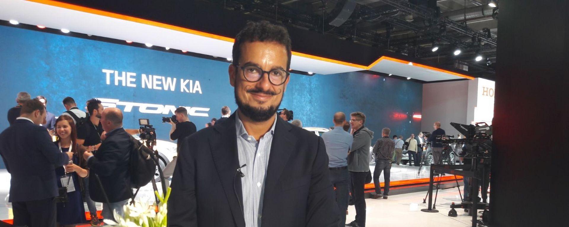 Le novità Kia raccontate da Giuseppe Mazzara, Marketing Communication e PR Director Kia Motors Italia