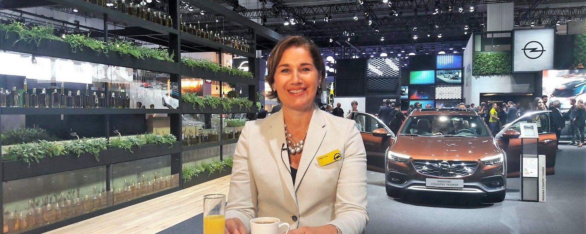 Le novità Opel raccontate da Paola Trotta, Direttore Comunicazione Opel Italia