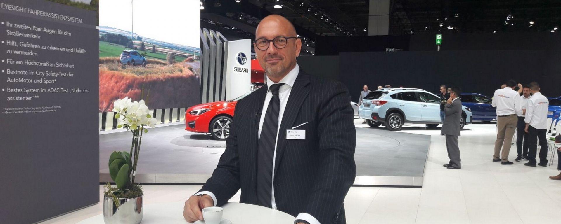 Le novità Subaru raccontate da Andrea Placani, Responsabile Comunicazione Subaru Italia