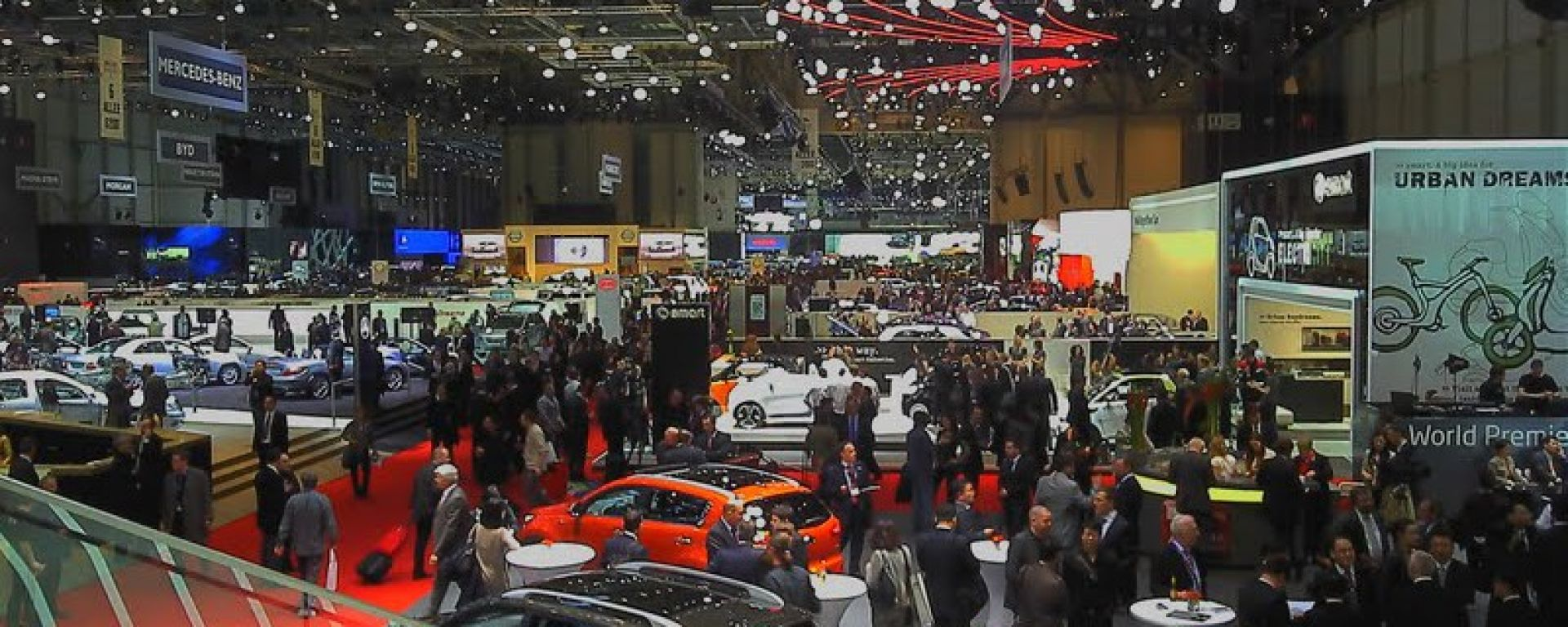 Salone di Ginevra 2011 1° parte
