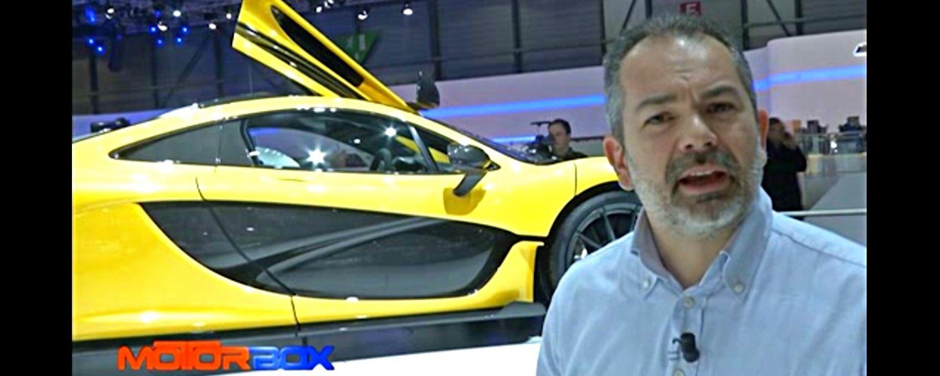 Salone di Ginevra 2013: McLaren