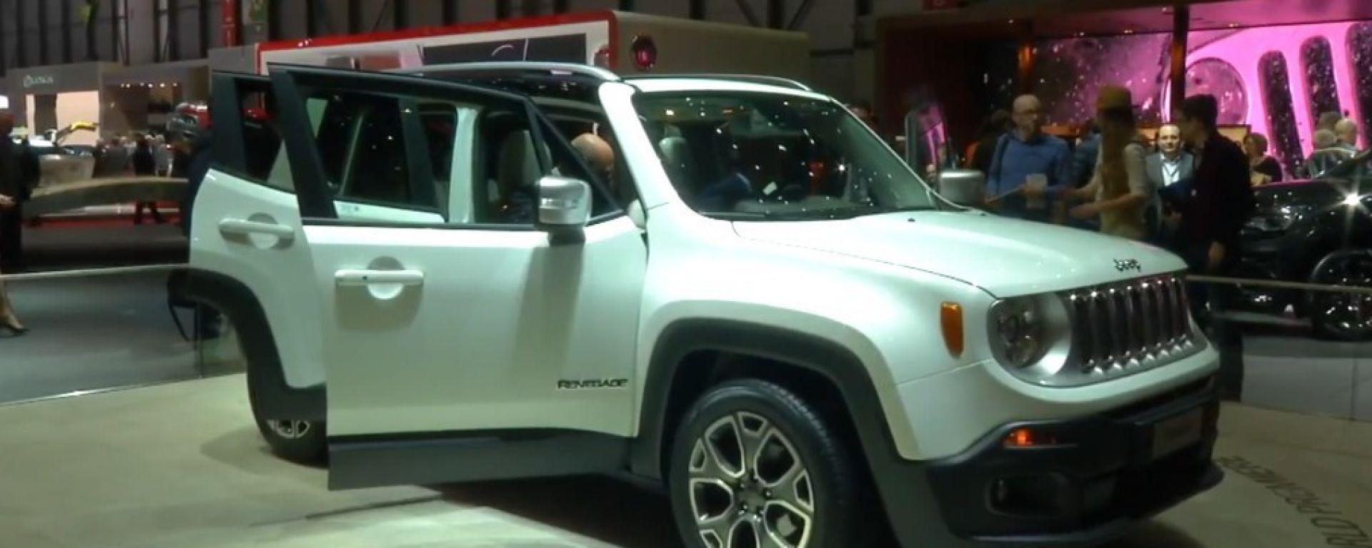 Salone di Ginevra 2014, lo stand Jeep
