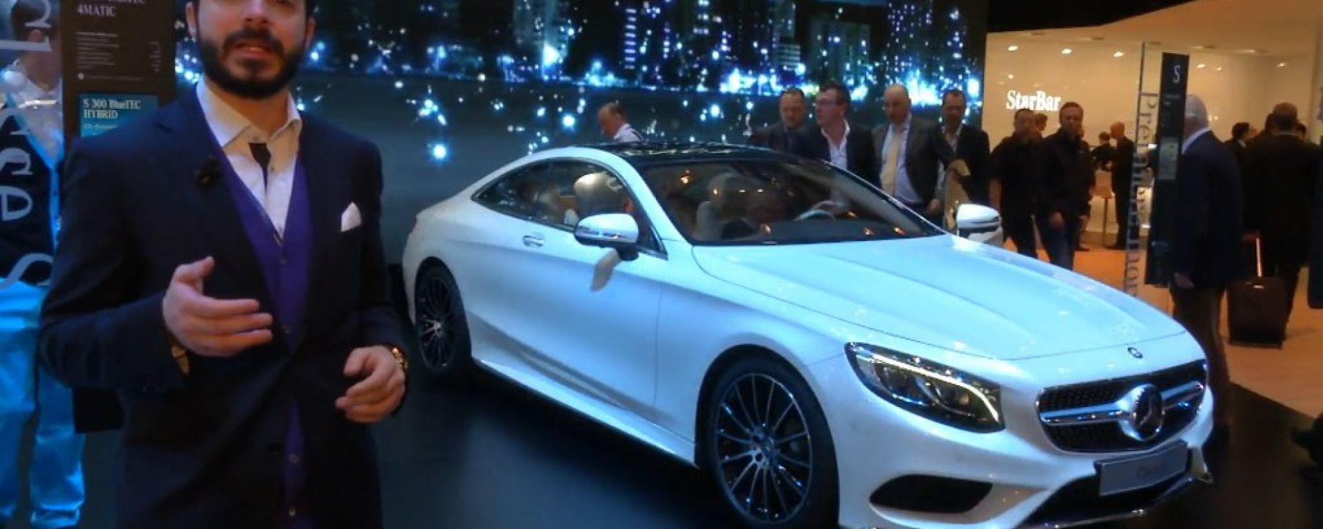 Salone di Ginevra 2014, lo stand Mercedes