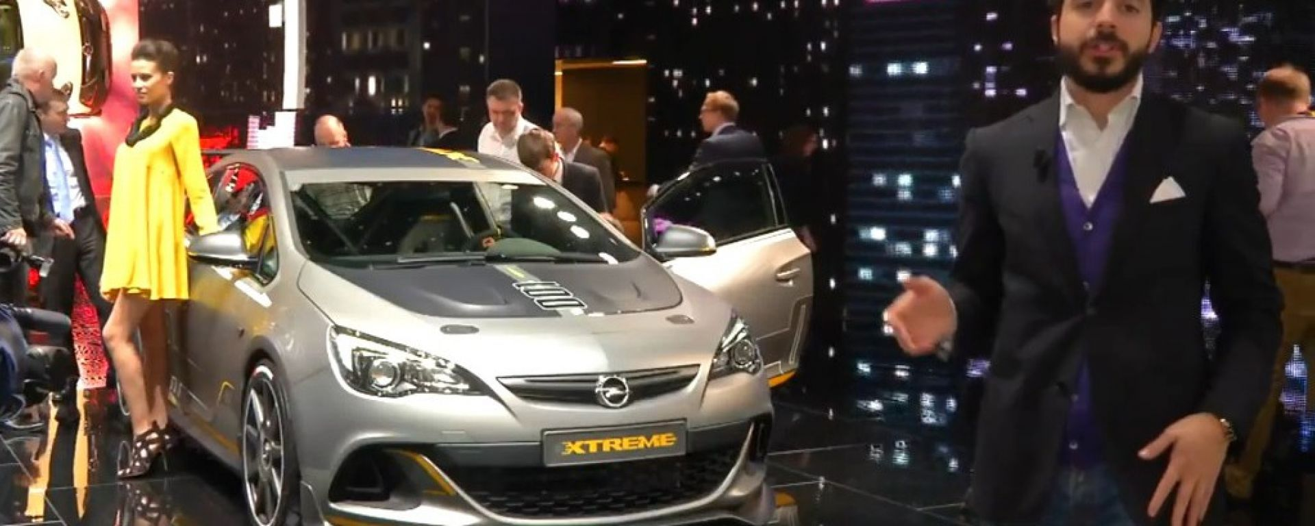 Salone di Ginevra 2014, lo stand Opel