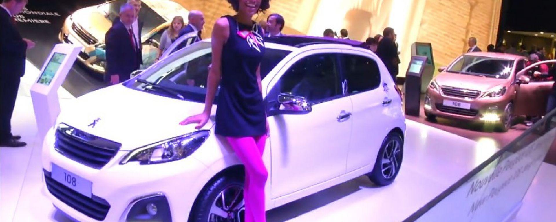 Salone di Ginevra 2014, lo stand Peugeot