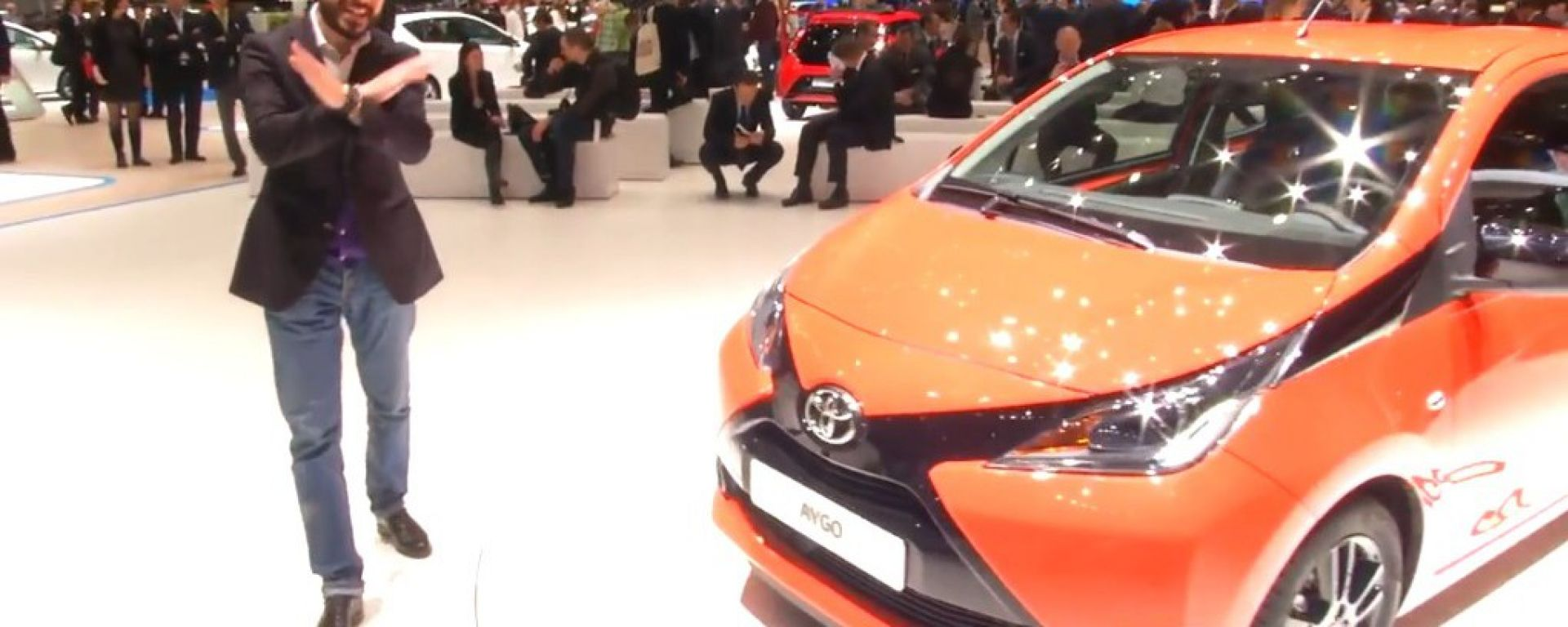 Salone di Ginevra 2014, lo stand Toyota