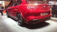 Salone di Ginevra 2017, Alfa Romeo Stelvio Quadrifoglio, vista posteriore