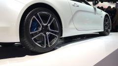 Salone di Ginevra 2017, Alpine A110, dettagli della fiancata destra