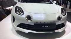 Salone di Ginevra 2017, Alpine A110, vista anteriore