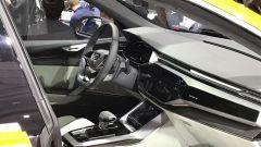 Salone di Ginevra 2017, Audi Q8 Concept, particolare degli interni