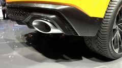 Salone di Ginevra 2017, Audi Q8 Concept, particolare degli scarichi