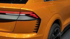 Salone di Ginevra 2017, Audi Q8 Concept, particolare dei fari posteriori
