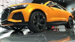 Salone di Ginevra 2017, Audi Q8 Concept, vista dal basso
