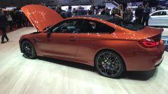 Salone di Ginevra 2017, BMW M4 Coupè, vista laterale