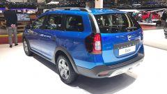 Salone di Ginevra 2017, Dacia Logan MCV Stepway, vista tre quarti posteriore